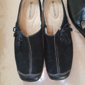 Naturalizer Suede Leather Slides